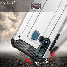 Cover Huawei Nova 5i Case Silicone Rubber Armor Shell Hard PC TPU Back Phone For