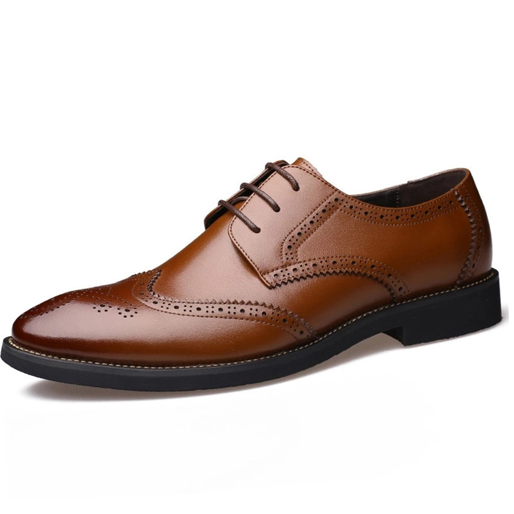 Luxury Design Oxford Business Men Shoes Genuine Leather High Quality - Men's Shoes