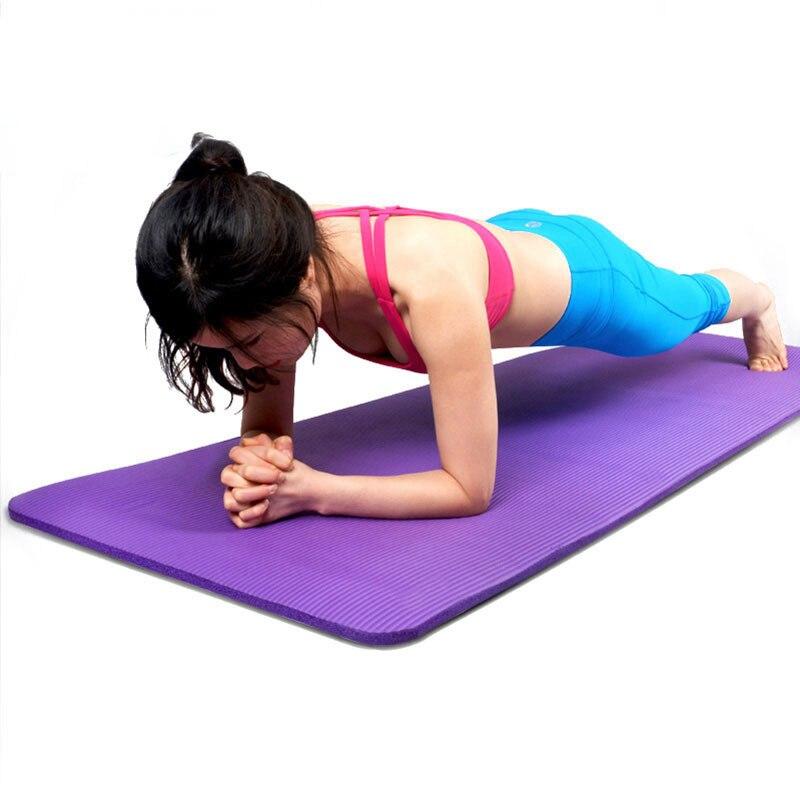 183x61x0.5cm 5mm NBR Material Exercise Yoga Mat Pad Non