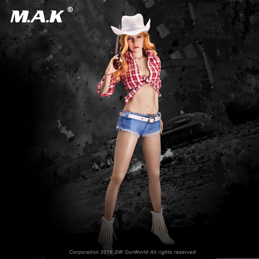 1/6 Scale Jessica Fox Cow Girl Suits Female Seamless Body with Steel Skeleton 12 Inches Action Figure Toys Set 1 6 scale figure doll plastic model seamless body with metal skeleton female samurai tomoe 12 action figure collectible figure
