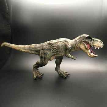 Jurassic Tyrannosaurus Rex Dinosaur Model Large Solid Simulated Dinosaur Toys 30*13*5CM - DISCOUNT ITEM  10% OFF All Category