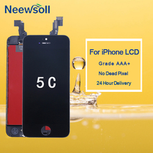 10Pcs/lot AAA Quality For iPhone 5C LCD Screen Touch Screen Digitizer Assembly For iPhone 5C Display DHL Free Shipping 20pcs lot dhl ems original for lenovo s930 lcd display assembly complete touch screen digitizer 6 0 inch free shipping