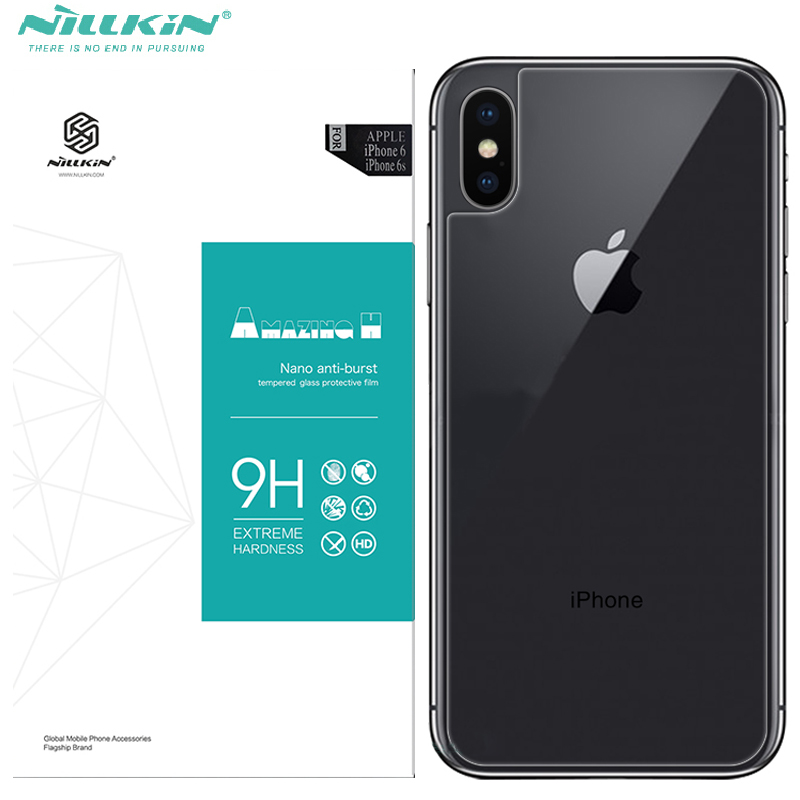 Nillkin Glass Back cover For Iphone X tempered glass stick