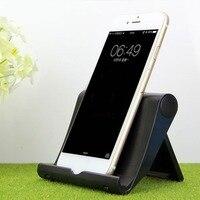 Universal Folding Tablet Phone Holder Cradle Adjustable Desktop Mount Tripod Stand Holder Support for iPad Pad Table Stabilizer|Phone Holders & Stands| |  -