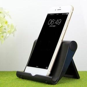 Universal Folding Tablet Phone Holder Cradle Adjustable Desktop Mount Tripod Stand Holder Support for iPad Pad Table Stabilizer(China)