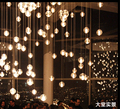 T Fashion Simple Led Crystal ball Lamps Meteor shower lamps Hall Hotel Home Living Room Balcony Lighting With bubbles
