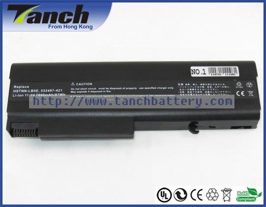Batterie ordinateur portable pour HP COMPAQ 6535B 6735B EliteBook 8440 p KU531AA ProBook 6440b 6540b 6450 6550 HSTNN-IB69 10.8 V 9 cellules