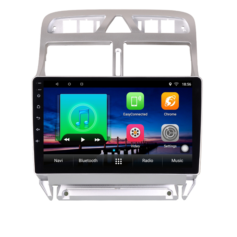 Android 8 1 Car DVD Multimedia Player GPS Navigation For peugeot 307 2004 to 2013 with