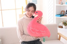 cute plush Flamingos toy stuffed red Flamingos pillow doll gift about 40x40cm