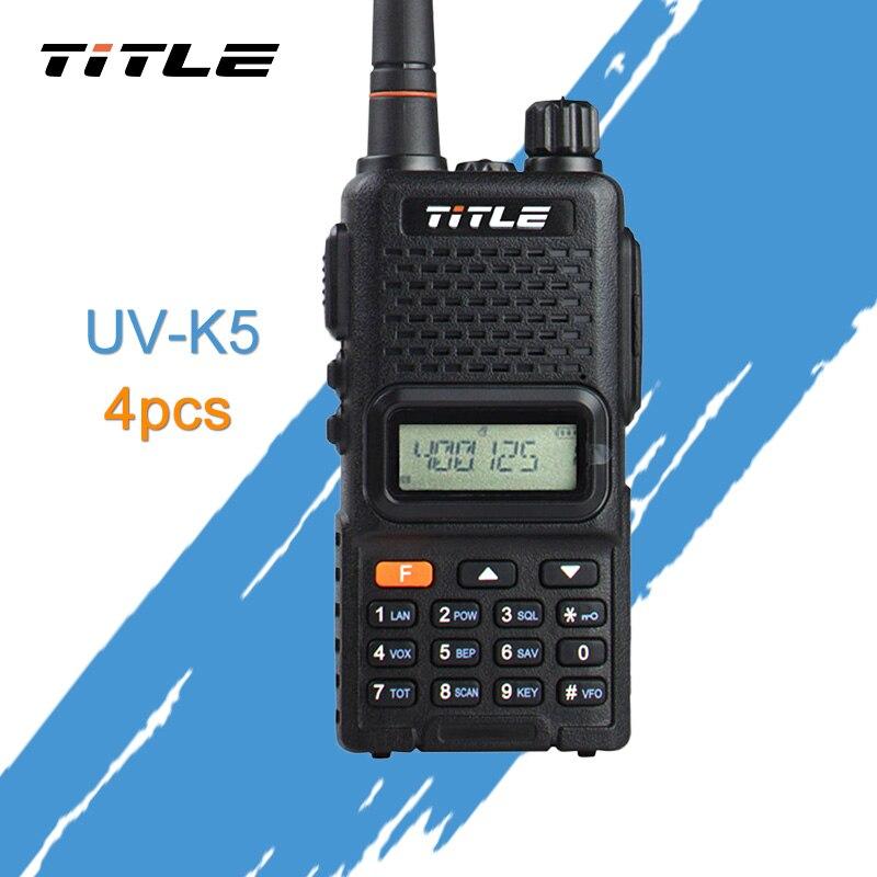 (4 PCS)Black KSUN Portable Radio UV-K4 Dual Band UHF 400-520MHZ FM RADIO Two Way Radio Walkie Talkie(4 PCS)Black KSUN Portable Radio UV-K4 Dual Band UHF 400-520MHZ FM RADIO Two Way Radio Walkie Talkie
