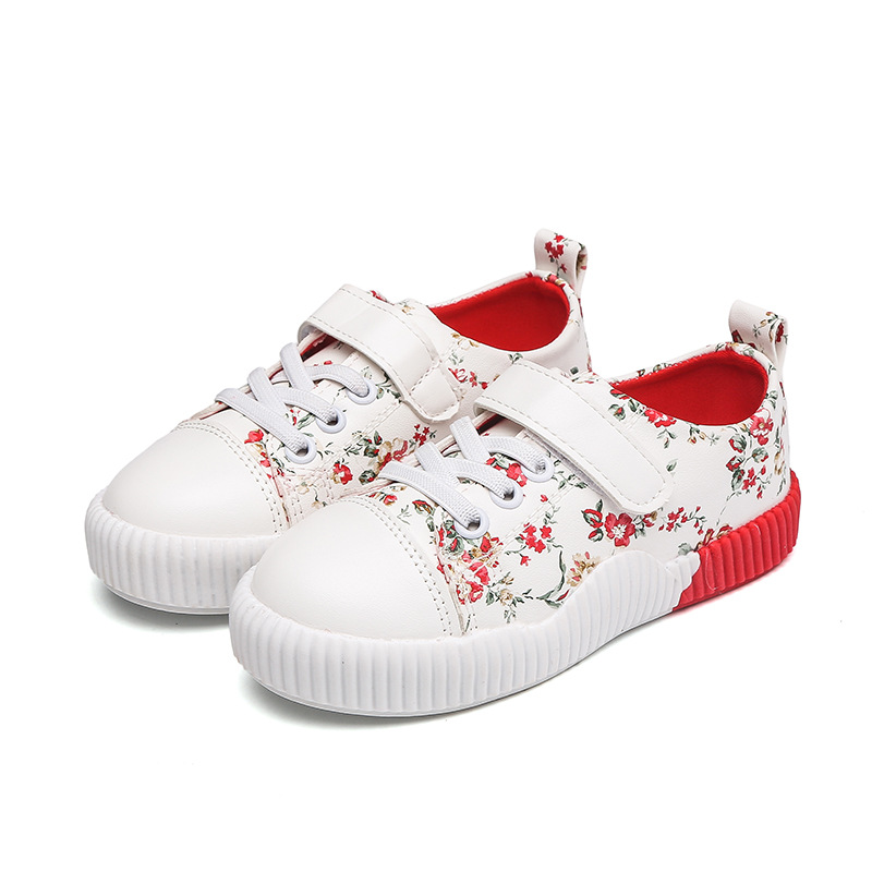 Kids Shoes for Girl 2018 New Autumn Children Girls Floral Sport Orthopedic Sneakers Toddler Girls Fashion Comfortable Shoes