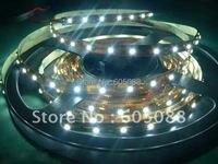 2 шт./лот теплый белый светодиод ленты 5 м/reel 60leds/метр 300 шт. SMD3528 LED один цвет гибкая не водонепроницаемый Светодиодные полосы света