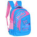 Embroidered bow orthopedic school bag for girls  Korean fresh primary school students waterproof school bag Dexterous backpack