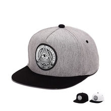 Moda hombres mujeres pareja Hip Hop Primavera Verano algodón ojo hueso  Snapback sombrero de sol alta calidad plana Gorras gorra . f1c2238ed71