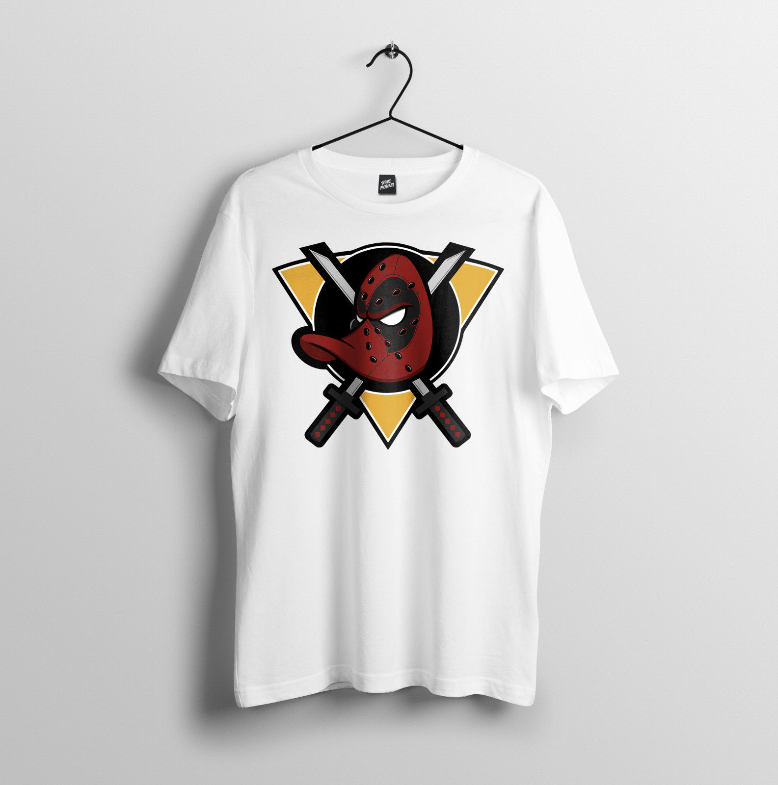 4100e2dd86be Tops Wholesale Tee Diversified In Packaging Mighty Ducks Mens Unisex T-shirt  S-2xl 100% Cotton Tee Shirt Duckpool Parody Hard-Working Deadpool Hockey