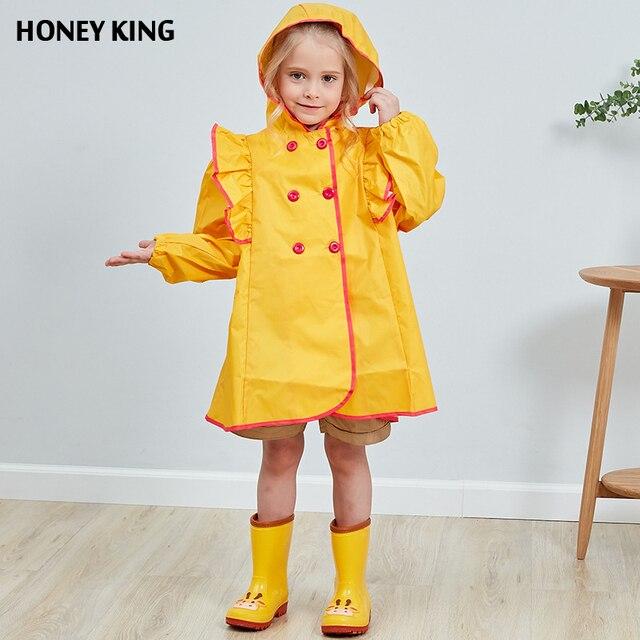 acc23f400 HONEYKIN Palace Style Nylon Waterproof Baby Girls Jacket Raincoat ...