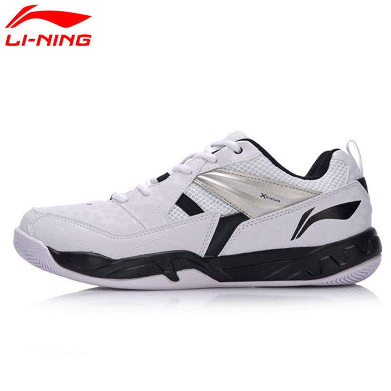 Li Ning Original Men Badminton Training Shoes Breathable Wearable Anti-Slip LiNing Sports Shoes Sneakers AYTM079 original li ning men professional basketball shoes