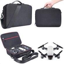 Portátil De Armazenamento Caixa De Caso EVA Rígido Bag Ombro Carry Sacos Acessórios para DJI Zangão Zangão Faísca