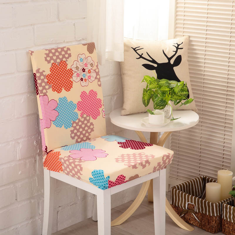 A1 Hot Sale Stretch Removable Dining Chair Cover Home Decor Restaurant Weddings Banquet Folding Hotel