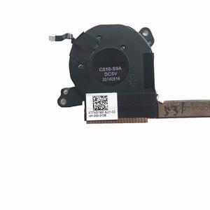 "Image 2 - מקורי עבור Lenovo יוגה 3 פרו 13.3 ""1370 אמיתי קירור מאוורר w/גוף קירור AT0TA001SS0 מעבד רדיאטור גוף קירור מלא נבדק"