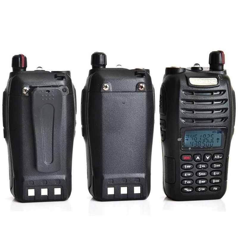 Baofeng UV-B6 5 W longue portée talkie-walkie double bande VHF/UHF deux voies Radio émetteur-récepteur Pofung UV B6 Portable Interphone FM Radio - 3