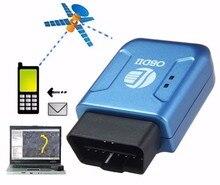 Мини TK206 OBD2 Автомобильный Gps tracker в Режиме Реального Времени Tracker Автомобиля с Системой Слежения Anti-Theft Вибрация Сигнализации Локатора для Автомобиля