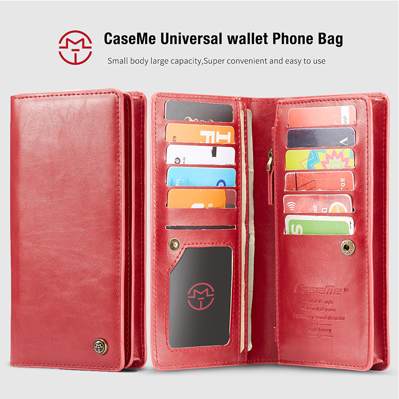 Kefo Universal Wallet Phone Bag Case For Sony Xperia L1 L2 E3 E4 E5 E6 Xa Xa1 Xa2 Ultra Multifunction Long Clutch Wallet Purse Structural Disabilities Wallet Cases