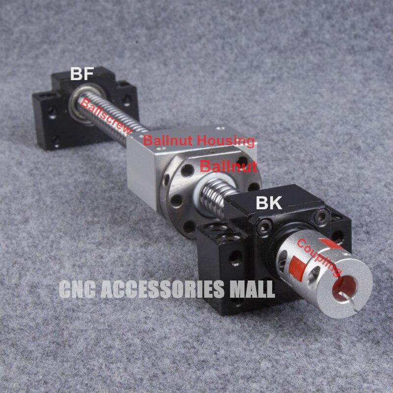 1 SET 1605 RM1605-L1000mm vis à billes + SFU1605 écrou à billes + BK12 BF12 Support d'extrémité + 1605 boîtier écrou à billes + 6.35*10 couplage