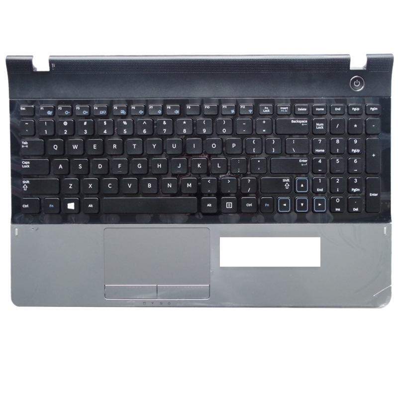 US For Samsung 300E5A NP300E5A 305E5A 300V5A 305V5A 300E5C Replace laptop keyboard with C shell Black