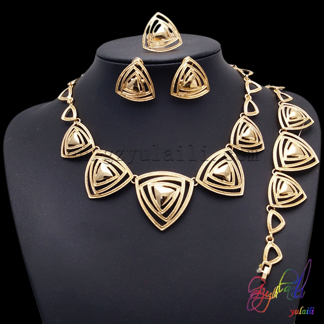 2016 fashionable European heart shape hollow out jewellery sets wholesale stylish gold color jewellery sets for women цены онлайн
