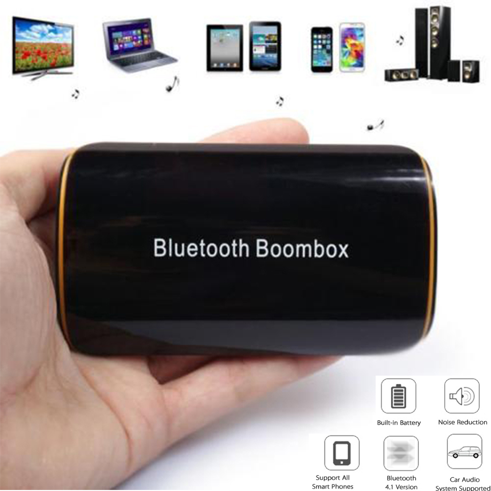 b2 wireless stereo bluetooth 4 1 edr receiver audio music box with mic rca for speaker. Black Bedroom Furniture Sets. Home Design Ideas