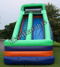Big Inflatable Slide With Pool Inflatable font b Bouncers b font Commercial Quality