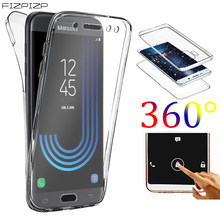 360 grad Fall Full Body für Samsung Galaxy J3 J5 J7 2017 J4 J6 Plus J8 2018 J2 PRO Prime j1 2016 Neo Protector Front Zurück Fall(China)