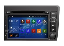 ROM 16G 1024*600 Quad Core Android 5.1.1 Fit Volvo S60 V70 2001 2002 2003 2004 Car DVD Player Navigation GPS 3G TV Radio