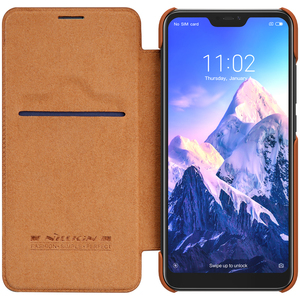 Image 5 - For Xiaomi Mi 9 PRO 5G Case Nillkin Qin Vintage Leather Flip Cover Mi A3 Cover Wallet Bag For Mi 9 Lite cc9 cc9e Cases