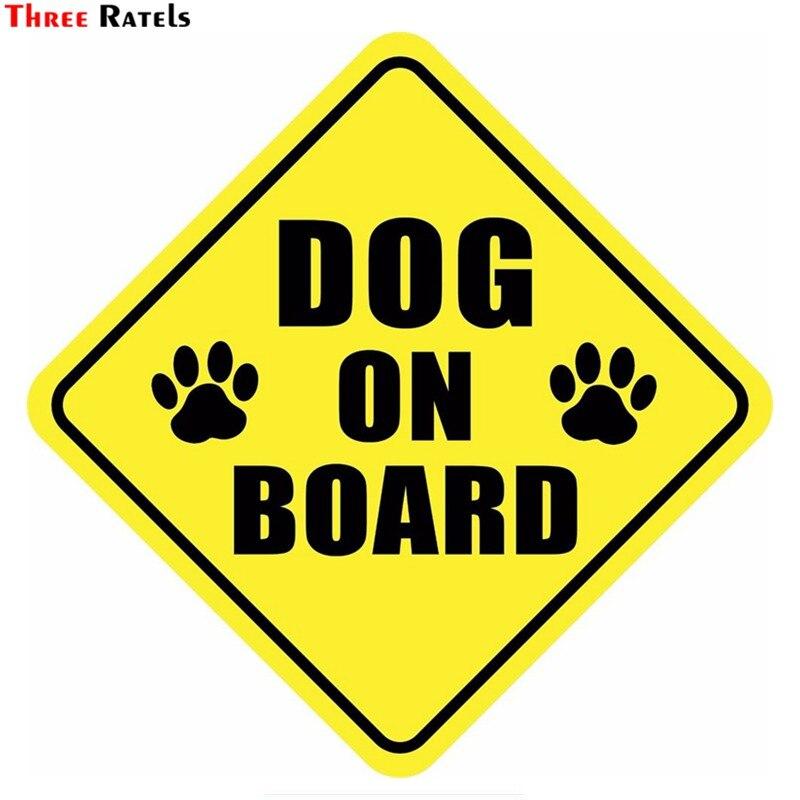 Three Ratels TZ-1716#15*15см собака в машине прикольные наклейки на авто наклейка на машину автонаклейка стикеры