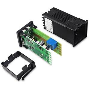 Image 5 - REX C100 Двойной цифровой ПИД регулятор температуры от 0 до 400 градусов, термостат SSR, выходные комплекты с датчиком зонда типа K
