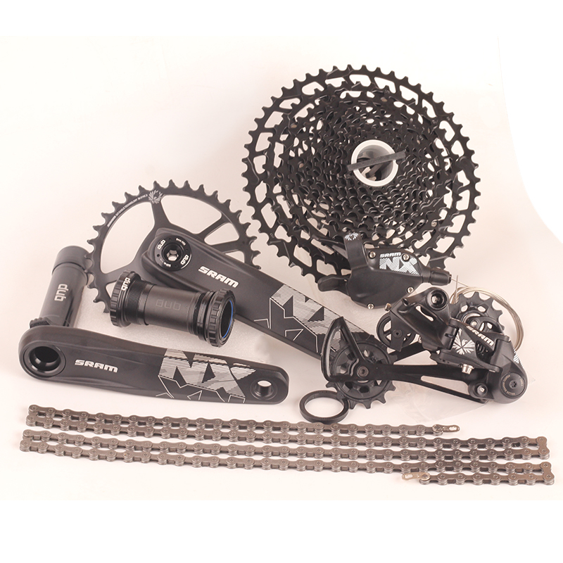 2018 NEW SRAM NX EAGLE 1x12s 11 50T speed Groupset Kit DUB 170 175mm Trigger Shifter