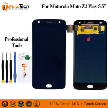 for Motorola Moto Z2 Play XT1710-01/07/08/10 5.5 inch AMOLED LCD Display Touch Screen Digitizer 1920*1080 assembly with Tools