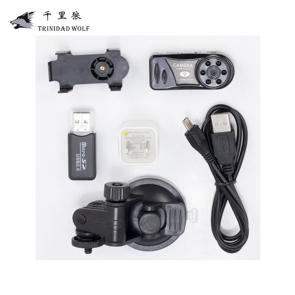Wireless MD81-6 Mini Wifi camera HD P2P webcam DV DVR infrared night vision  Camera Support MAX 64G SD Card mini dv dvr видеокамера скрытая видеокамера webcam recorder новый