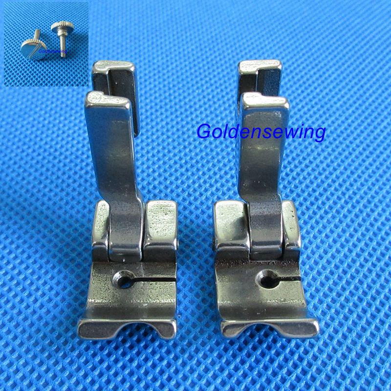 LEFT+RIGHT Piping Welting Cording Presser Foot for JUKI DDL-8500 8700 8300 5550 Industrial Sewing Machine please choose your wanLEFT+RIGHT Piping Welting Cording Presser Foot for JUKI DDL-8500 8700 8300 5550 Industrial Sewing Machine please choose your wan