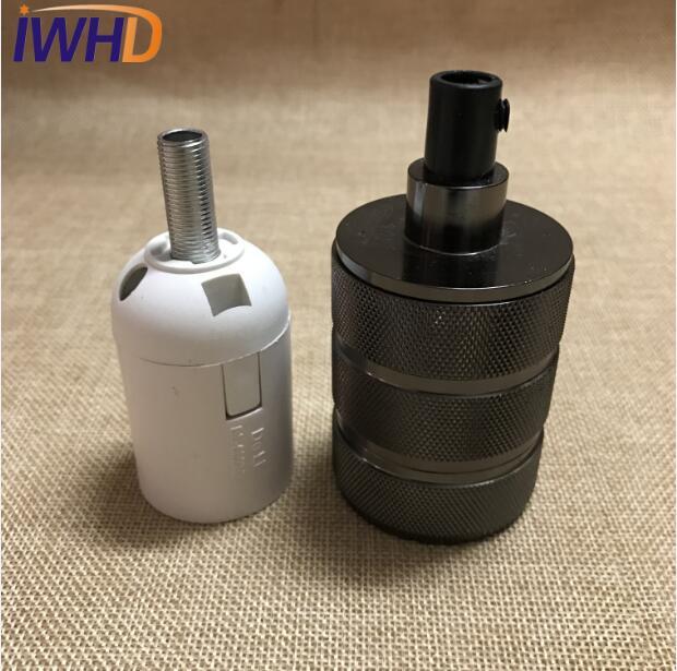 Portalampada, винтажный E27 патрон для лампы, фитинг, промышленный стиль, дуиль E27, винтажный патрон для лампы Эдисона, подвесное основание для патрона - Цвет: 3