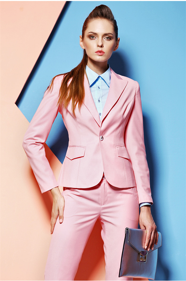 Popular Pink Business Suit-Buy Cheap Pink Business Suit lots from ...