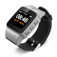 D99 Plus 1 22 OLED Screen GPS Watch Tracker Alarm Clock Intercom Pedometer SOS Geo Fence