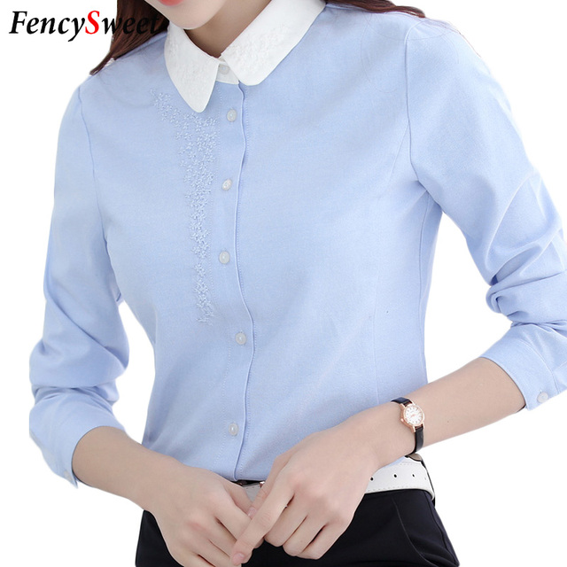 Elegant Womens Formal Blouse Office Uniform For Ladies Work Wear