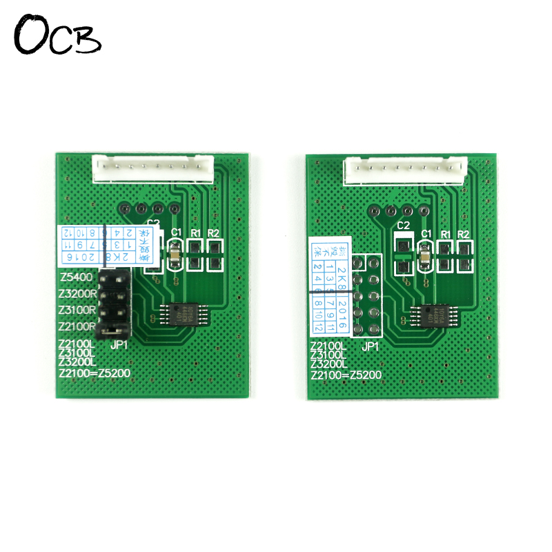 Chip Decoder For HP Designjet Z2100 Z3100 Z3200 Z5200 Z5400 Printer Decoder Board 4 color permanent chip for hp 685 for hp 3525 4615 4620 5525 4625 printer cartridge chip