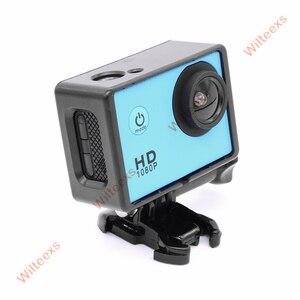 Image 5 - Wilteexsカメラアクセサリーボーダーフレームマウント保護ハウジングケースカバー用sjcam sj4000スポーツアクションカム