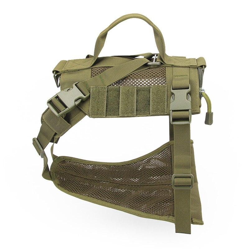 Тактический военный K9 дышащая Одежда с принтом в виде собак Жгут Регулируемый размер Training Охота Молл Собака Жилет Жгут