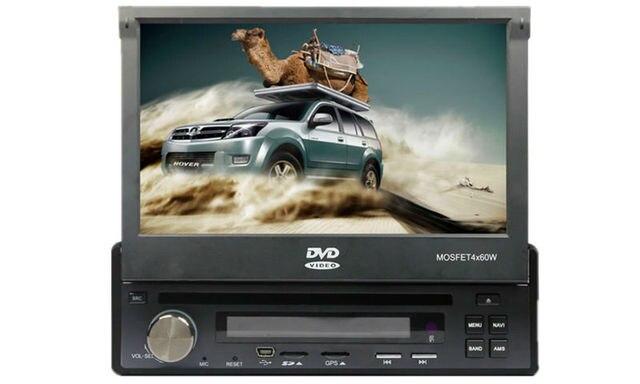 """7"""" 1 Din Touchscreen in dash Car radio car Stereo car DVD Player/ BT/ FM /AM/ USB/SD"""