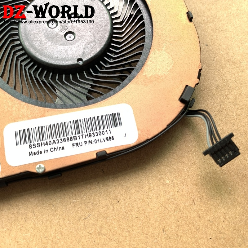 New Original for ThinkPad T480S Heatsink CPU Cooler Cooling Fan UMA Integrated graphics  01LV695 01HW699 01HW698 01HW697-in Fans & Cooling from Computer & Office    2